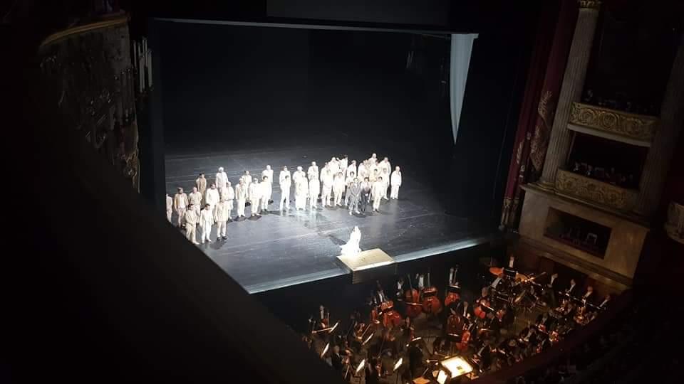 Rigoletto und der Herzog von Manuta