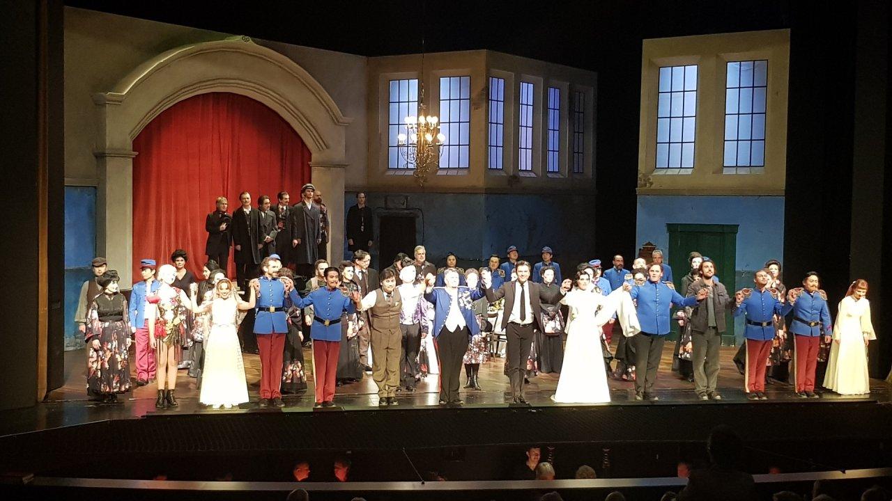 Die Sizilianische Vesper - Grand opéra im kleinen Haus